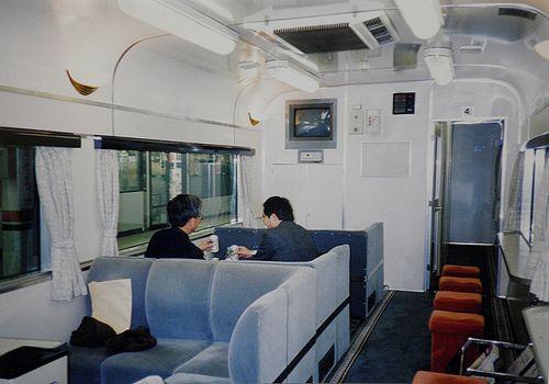 スハ25形300番代車内(1999年1月24日・東京駅)