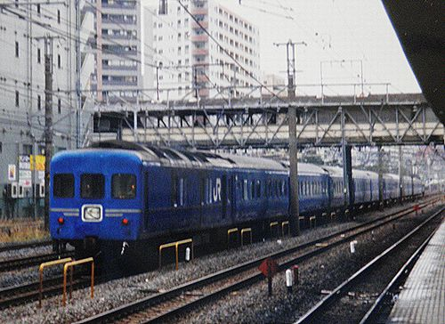 特急4列車「さくら・はやぶさ」(2005年1月・東神奈川駅)