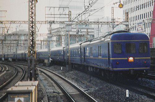 特急4列車「出雲」(2006年3月8日・有楽町駅)