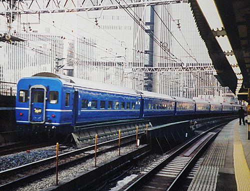 急行102列車「銀河」(回送)(2006年3月8日・有楽町駅)