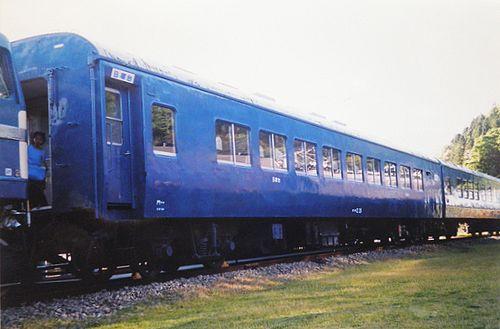 オハネ12 29(門サキ)(碓氷峠鉄道文化むら・2005年6月)