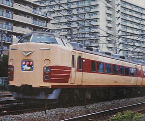 千マリ183系「30」編成「踊り子20周年記念号」(2001年10月7日・横浜~保土ヶ谷間)2