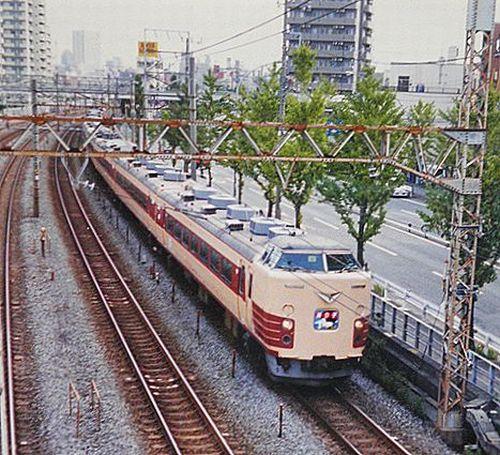 千マリ183系「30」編成「踊り子20周年記念号」(2001年10月7日・横浜~保土ヶ谷間)3