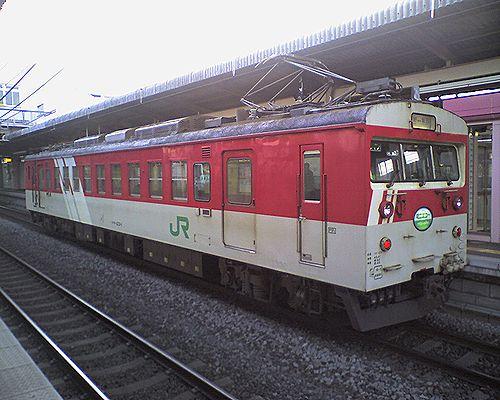 クモハ123-1(長モト)(2010年1月20日・塩尻駅)3