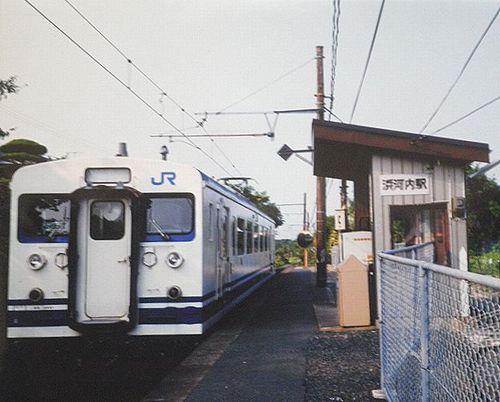 クモハ123-2(広セキ)(2001年7月29日・浜河内駅)1