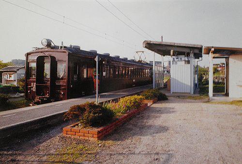 小野田線本山支線・長門本山駅(2001年4月24日)