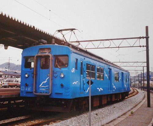 クモハ123-6(岡オカ)(2001年4月25日・宇野駅)