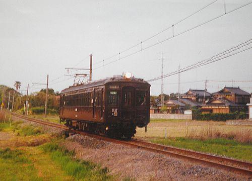 小野田線本山支線クモハ42001(広セキ)(2001年4月24日・雀田~浜河内間)