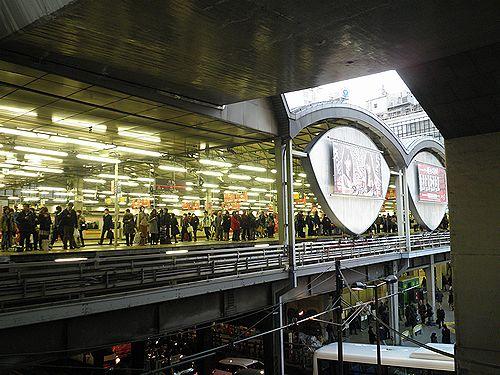 東急東横線渋谷駅(2013年2月28日)2