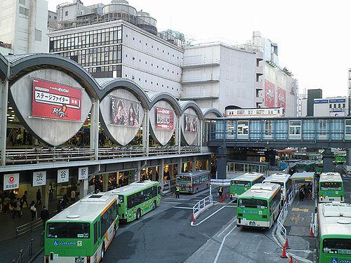 東急東横線渋谷駅(2013年2月28日)1