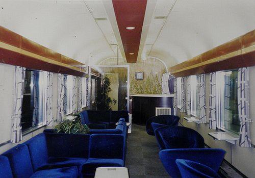 オハ24 703~705(熊クマ)車内(正確な車号不詳・1999年1月24日・東京駅)