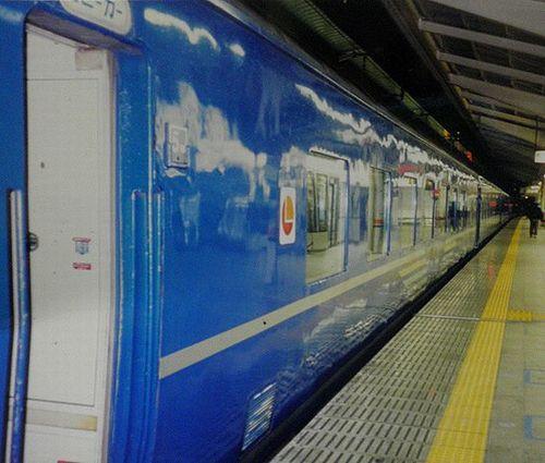オハ24 703~705(熊クマ)(正確な車号不詳・1999年1月24日・東京駅)