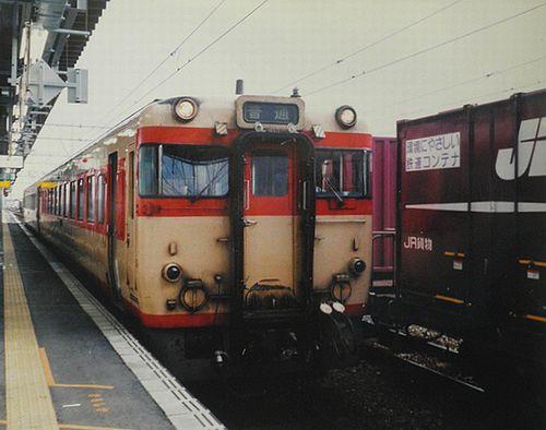 キハ58 1528(盛モカ)(2005年7月22日・弘前駅)