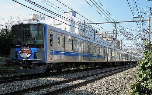 西武20103F広告電車(2013年3月16日・大泉学園~保谷間)