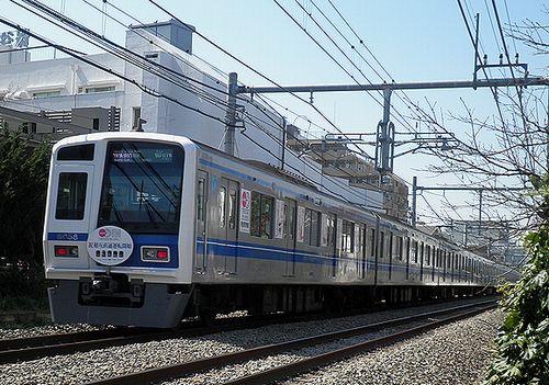 西武6158F「5社直通運転開始」記念列車(2013年3月16日・大泉学園~保谷間)3