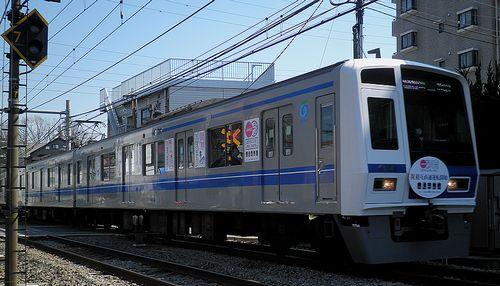 西武6158F「5社直通運転開始」記念列車(2013年3月16日・大泉学園~保谷間)2