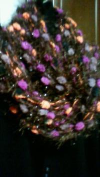 ショール紫