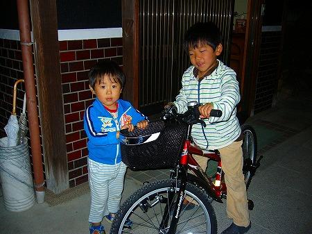 新しい自転車1