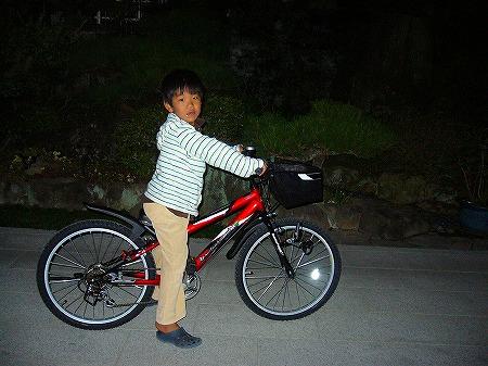 新しい自転車3