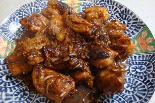 100411-011鶏のねぎ味噌焼き(縮小)