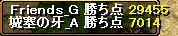 Friends_G様GV結果