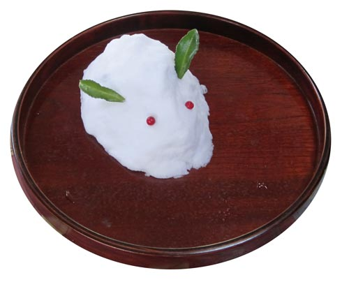 雪兔(ゆきうさぎ)