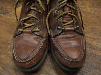 Timberland LEATHER BOOTS 前