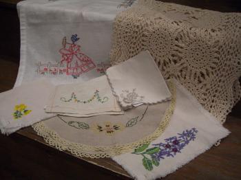刺繍ファブリック