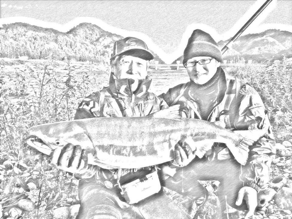 荒川鮭釣り 11月17日(日) 新潟村上