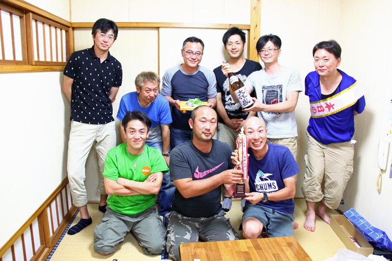 新潟 村上 笹川流れ アオリイカ釣り 大会 イカップ