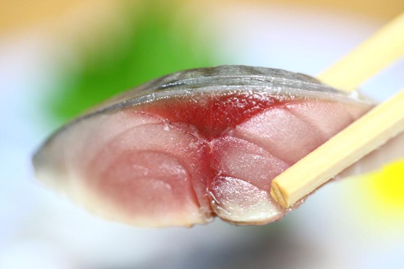 日本海 地元刺身 村上市 〆鯖