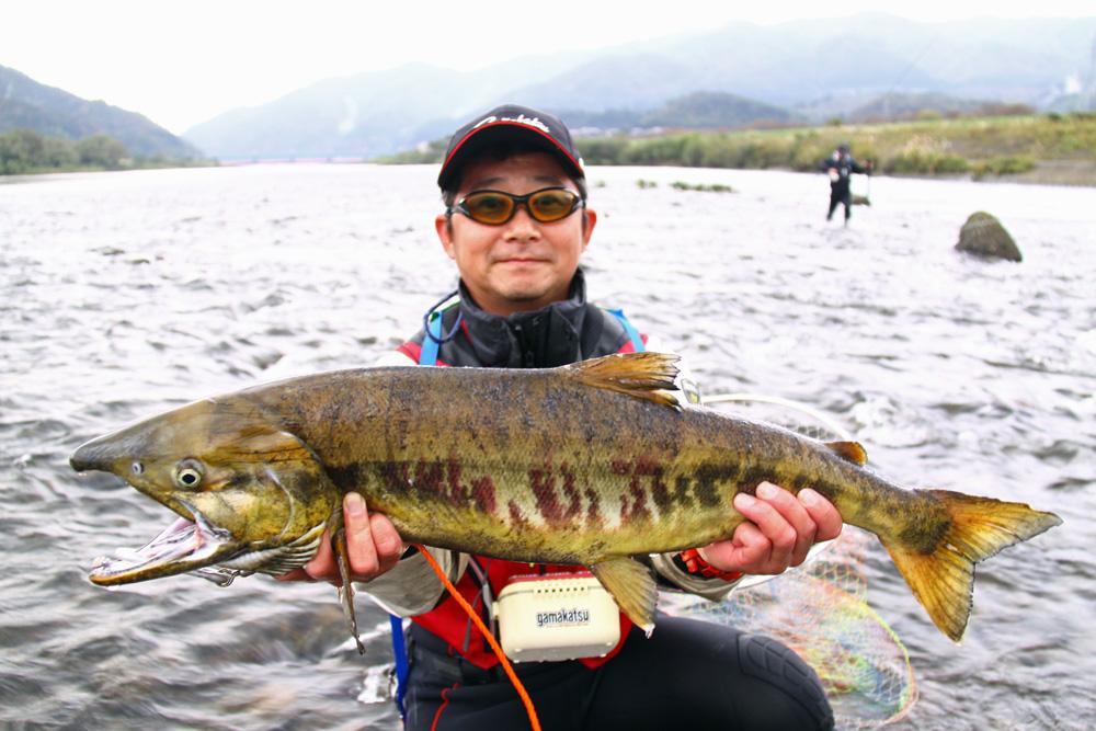 荒川鮭釣り 2013 10月 甲駿渓遊会
