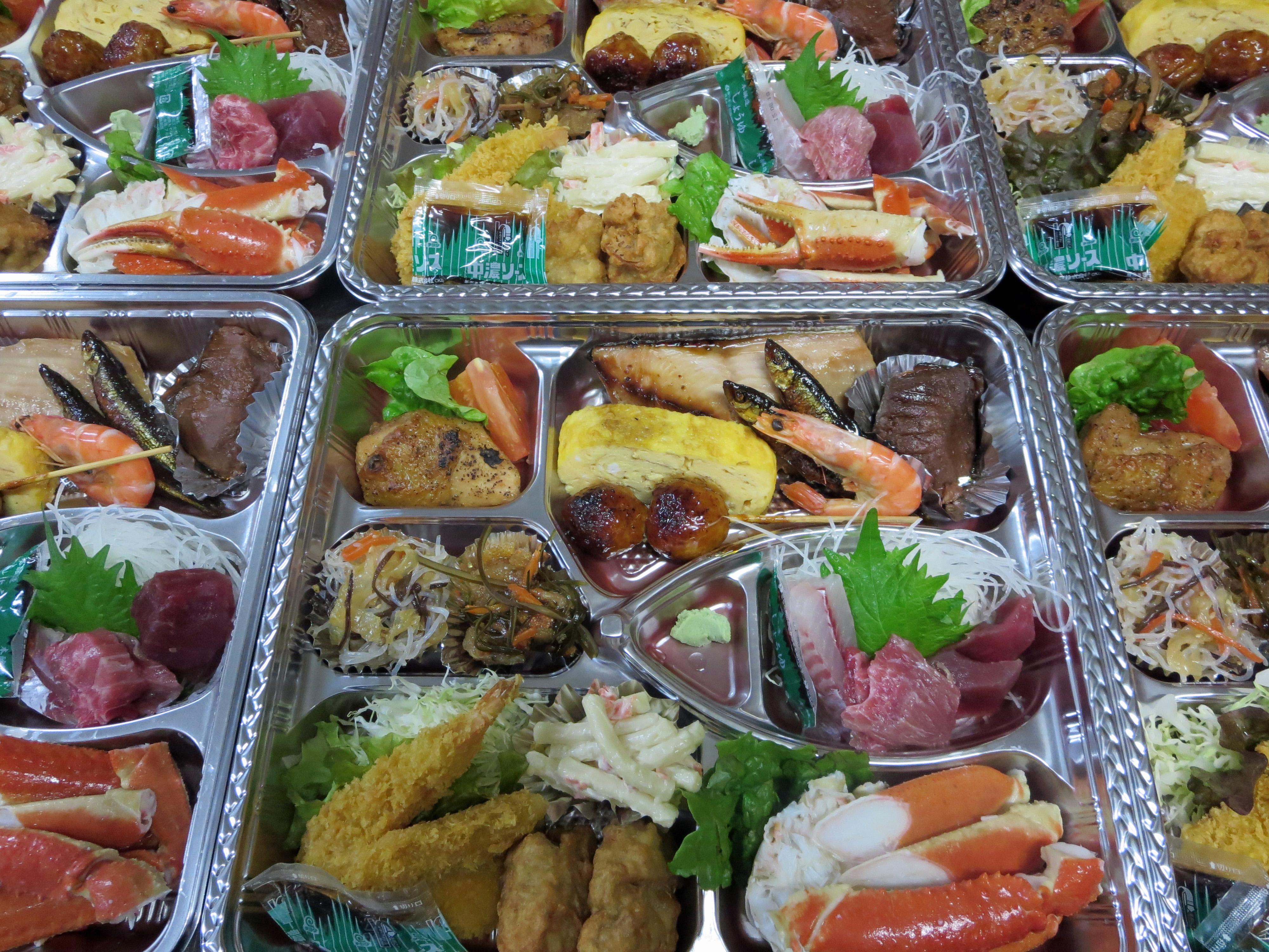 料理折 忘新年会プラン 新潟県村上市 いそべ食堂