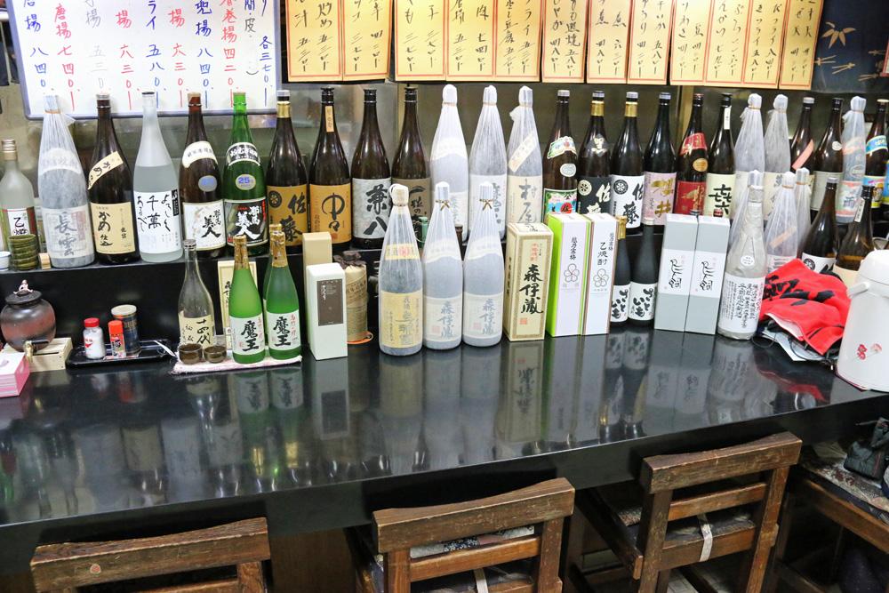 新潟県村上市 美味しい焼酎が飲める店