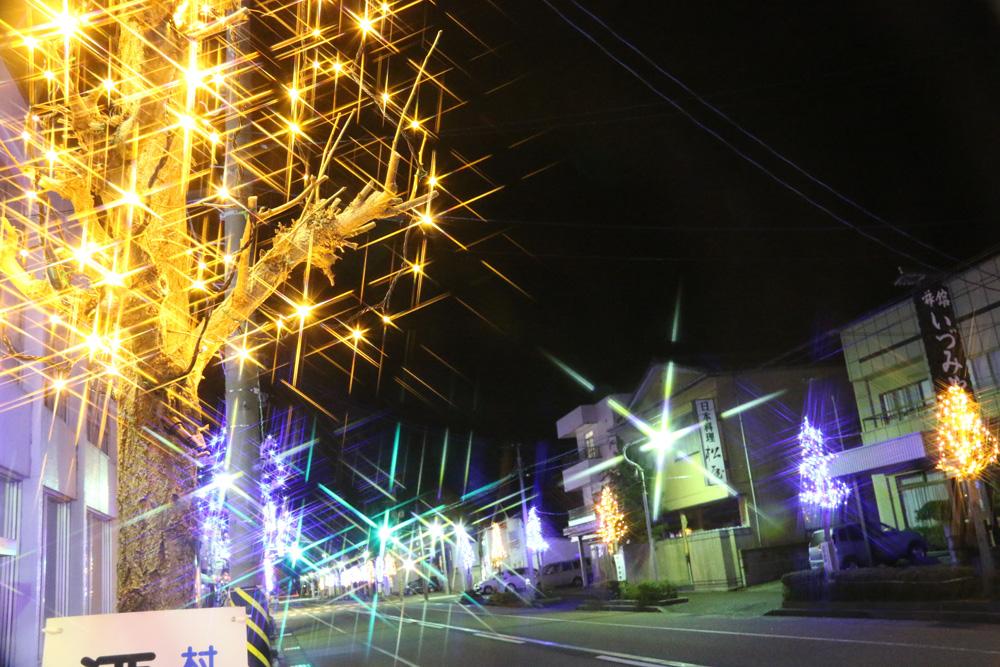 きらきらフェスティバル クリスマス 新潟県村上市