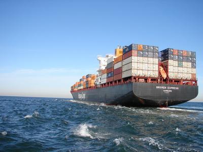 海 コンテナ 巨大船 スケール
