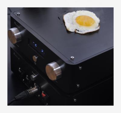 ヘッドホンアンプ 目玉焼き ネタ画像