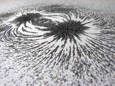 磁界 砂鉄 磁石 科学