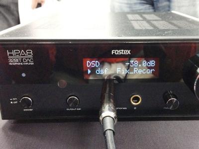 フォステクス A8 ヘッドホンアンプ