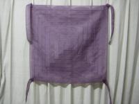 紫のムジゲポ 紐4本付けました