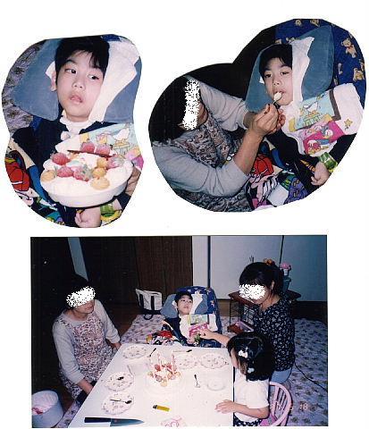 8t9705誕生会8歳と退院祝い