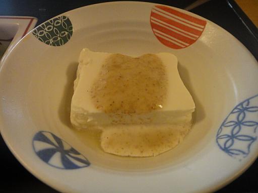 ゴマタレ豆腐