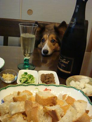 私も食べたいチーズフォンデュ