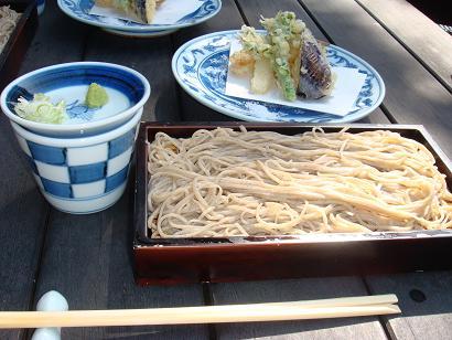 松原庵ランチ蕎麦