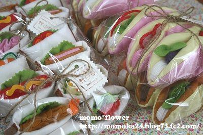サンドイッチ&オムレット