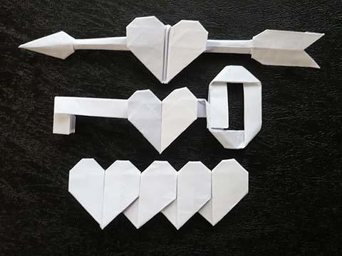 ハート 折り紙:ハート 折り紙-momotarota.blog47.fc2.com