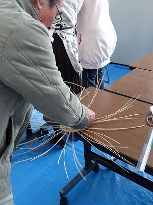 籐を使った小物作り体験