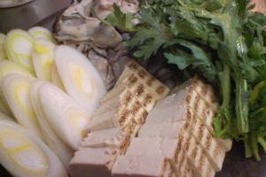 牡蠣鍋材料