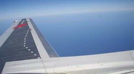 飛行機 羽