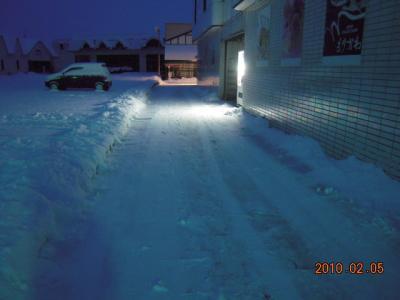 H22.2.5 雪かき 002